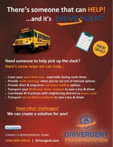 School District Services Support Flyer